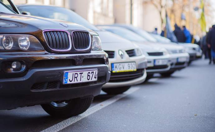 Кредит под залог авто на евро номерах